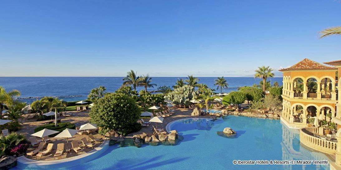 Iberostar Grand Hotel El Mirador Teneriffa - 5-Sterne